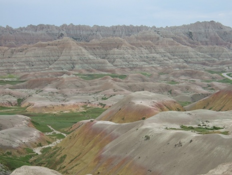 Image of the badlands.