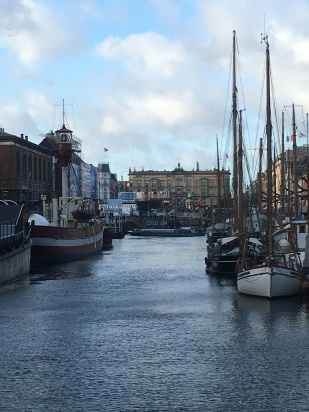 Image of Nyhavn Canal and boats in Copenhagen
