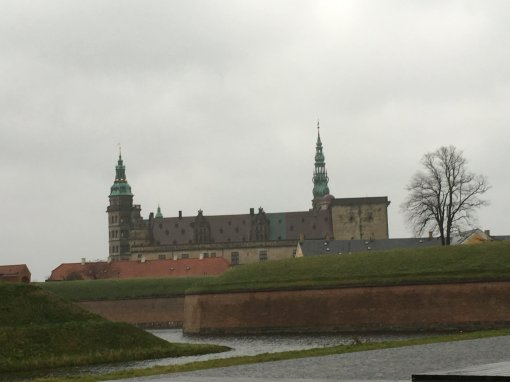 Image of Kronborg Castle, Helsingor Denmark