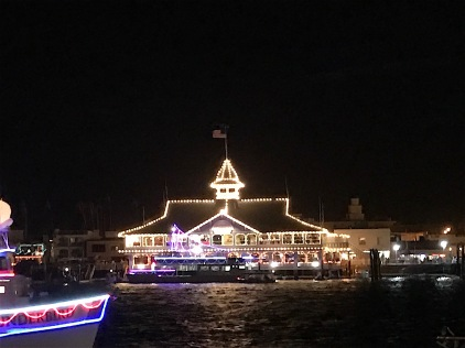 Image of Newport Harbor During the Boat Parade