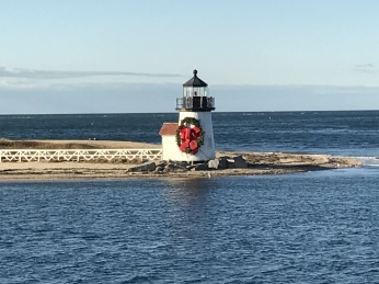 Nantucket Lighthouse at Christmas