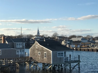 View of Nantucket from the Harbor