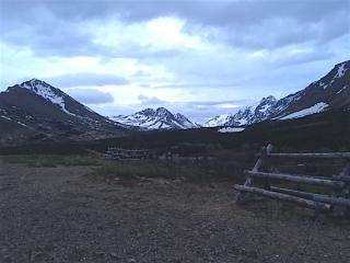 Image of Alaska Mountain at Sunset
