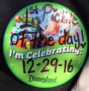 Image of the First Pickle of the Day Pin