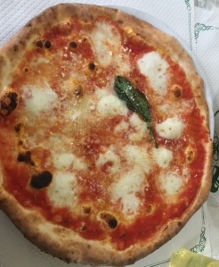 Image of pizza in Naples, Italy