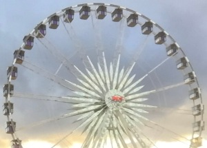 Image of Ferris Wheel at Stagecoach Festival