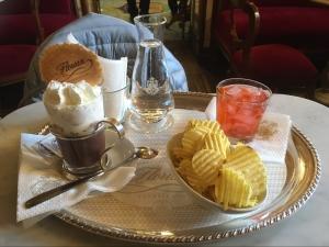 Image of snacks in Venice