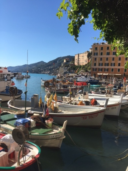 Image of boats in Camogli