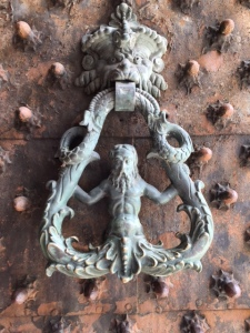 Image of door knocker in Genoa