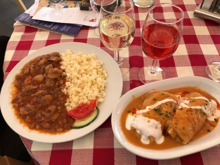 Image of Hungarian Food and Wine