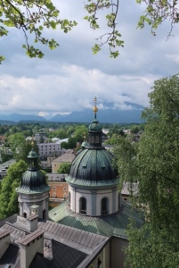 View from Nonnberg Abbey