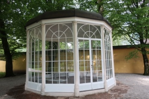The gazebo from the Sound of Music