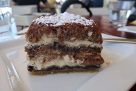 Image of Prekmurska Gibanica, a Slovene dessert