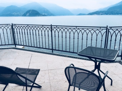 Image of Lake Como from Hotel Du Lac