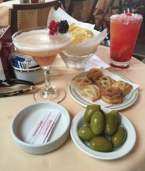 Image of cocktails in Cafe Zucca in Milan