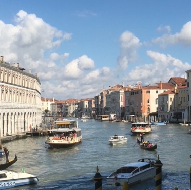 Image of the Grand Canal in Venice