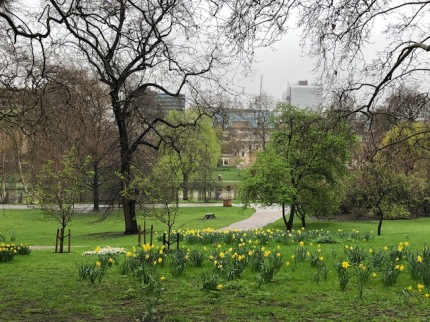 Image of London Park in April
