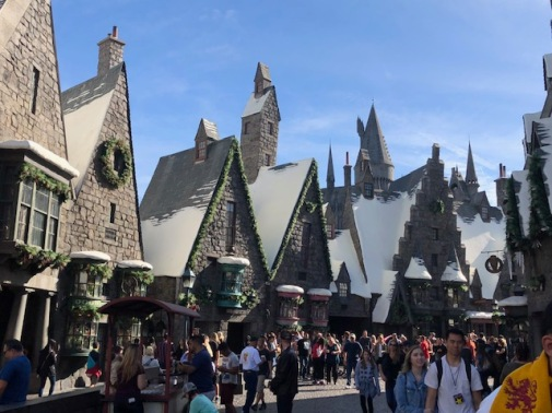 Image of Hogsmeade at Universal Studios