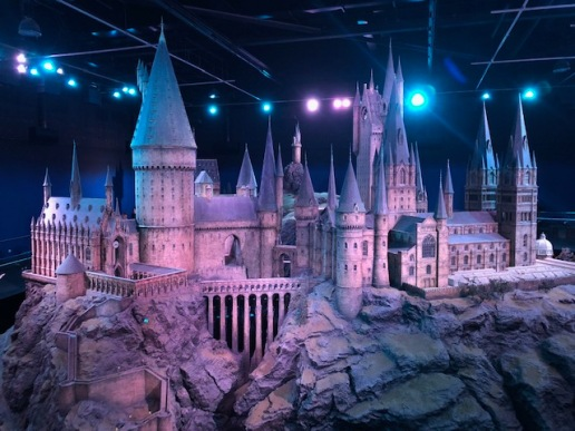 Image of Hogwarts Castle Model