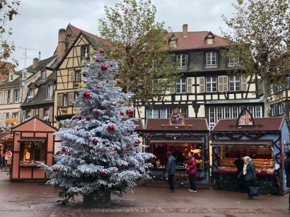 Image of Christmas Market in Colmar