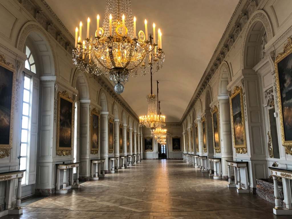 Image of hall in the Grand Trianon